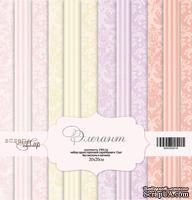 Набор односторонней бумаги от Scrapmir - Элегант, 20х20 см, 12 шт - ScrapUA.com