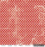 Лист односторонней бумаги 30x30 от Scrapmir Штурвал из коллекции Море 1шт