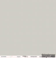 Лист односторонней бумаги от Scrapmir - Горошек - Baby Girl, 30х30 см