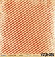 Лист односторонней бумаги для скрапбукинга от Scrapmir - Карамель - Christmas Night, 30x30 см