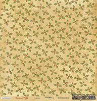 Лист односторонней бумаги для скрапбукинга 30x30 Созвездие, коллекция Scrapmir - Christmas Night