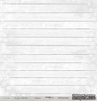 Лист односторонней бумаги для скрапбукинга 30x30 Изморозь, коллекция Scrapmir - Rustic Winter
