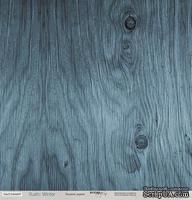 """Лист односторонней бумаги для скрапбукинга от  Scrapmir - """"Ледяное дерево""""из коллекции Rustic Winter, 30x30 см"""