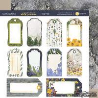 Лист двусторонней бумаги 20х20см Tag-Pad Herbarium Wild summer от Scrapmir