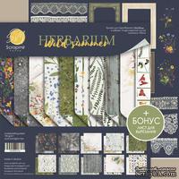 Набор двусторонней бумаги 20х20см от Scrapmir Herbarium Wild summer 10шт. - ScrapUA.com