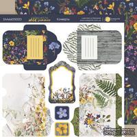 Лист двусторонней бумаги 20х20см Конверты Herbarium Wild summer от Scrapmir