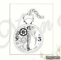 Штамп от Питерского скрапклуба - Часы
