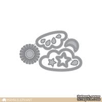 Ножи для вырубки от Mama Elephant - Stitched Sky - Creative Cuts - Небо