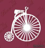 Чипборд от Вензелик - Ретро велосипед, размер: 65x67 мм