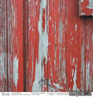 "Лист односторонней скрапбумаги - Пихта ""Текстура"", 30,5х30,5 см,190 гр\м2"