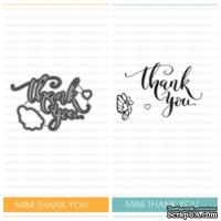 Набор ножей и штампов от Studio Katia - Mini Thank You