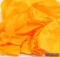Папиросная бумага тишью 50х70 см  (слож.12,5 х 19см), цвет: оранжевый, 10 листов