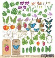 """Лист  бумаги от EcoPaper - Натуралист """"Тропикана"""""""