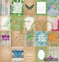 """Набор карточек от EcoPaper """"Тропикана"""""""