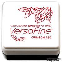 Пигментные быстросохнущие чернила Tsukineko - VersaFine 1in Cube Pads Crimson Red - ScrapUA.com