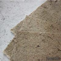 Тутовая бумага, цвет натуральный коричневый