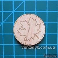 Деревянное украшение от Вензелик - Круглячок 03