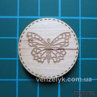 Деревянное украшение от Вензелик - Круглячок 04
