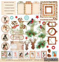 """Лист с картинками от EcoPaper - Волшебная зима """"Зимние сны"""", 30х30см"""