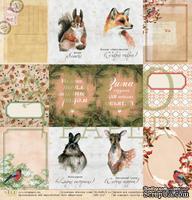 Карточки от EcoPaper - «Зимние сны», 30х30 см