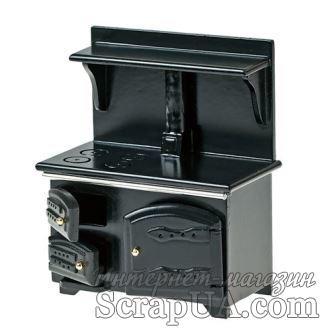 Кухонная плита от Art of Mini, черная - ScrapUA.com