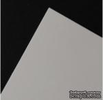 Гладкий мелованный картон белого цвета, 30х30см,  350г/м2, 1 шт. - ScrapUA.com