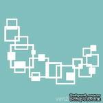 Чипборд от Вензелик - Геометрия, размер: 69x99 мм - ScrapUA.com