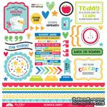 "Наклейки от Doodlebug - This & That Cardstock Stickers 12""X12"" - School Days, 50 шт. - ScrapUA.com"