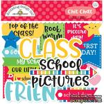 Высечки от Doodlebug - Odds & Ends Chit Chat Die-Cuts - School Days, 111 шт. - ScrapUA.com