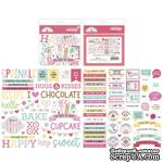 Набор высечек Doodlebug Odds & Ends Chit Chat Die-Cuts - Made With Love - ScrapUA.com