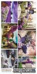 "Лист с картинками от Евгения Курдибановская ТМ - ""Прованс"", 15х30 см - ScrapUA.com"