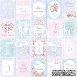 Набор картинок для декорирования Фабрика Декора - Карточки Shabby dreams - свадьба (англ.) - ScrapUA.com