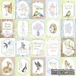 Набор картинок для декорирования Фабрика Декора - Карточки  Smile of Spring (англ.) - ScrapUA.com