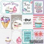 Карточки Candy shop (eng.), ТМ Фабрика Декору - ScrapUA.com