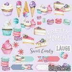 Лист для вырезания Candy shop (eng.), ТМ Фабрика Декору - ScrapUA.com