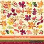 Лист с картинками для вырезания Autumn- RUS, ТМ Фабрика Декору - ScrapUA.com