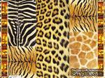 """Декупажная карта """"Шкуры африканских животных"""", размер: 29,5х40 см - ScrapUA.com"""
