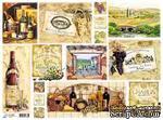 """Декупажная карта """"Вино"""", размер: 29,5х40 см - ScrapUA.com"""