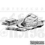 """Акриловый штамп """"Мужская шляпа"""" - ScrapUA.com"""
