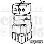 """Акриловый штамп """"Коробки с подарками"""" - ScrapUA.com"""
