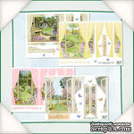 Заготовки для Flower Soft - Вид из окна - Лето 2, 8 шт. - ScrapUA.com