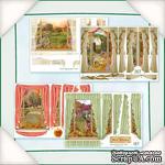 Заготовки для Flower Soft - Вид из окна - Осень, 8 шт. - ScrapUA.com