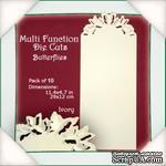 Заготовки от Flower Soft - Multi Function Die Cuts - Butterflies (Ivory) - ScrapUA.com