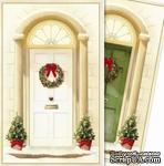 Заготовки для Flower Soft - Christmas - Traditional Door, 6 шт. - ScrapUA.com