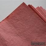 Тутовая бумага ручной работы, цвет нежно-розовый, формат А4 - ScrapUA.com
