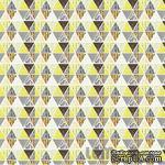 Лист бумаги от Lemon Owl, коллекция - Attic Door, лист  #11 - Mosaic, 401111 - ScrapUA.com