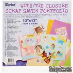 Папка для хранения от Darice - Scrap Saver Portfolio, прозрачная, 33х33 см - ScrapUA.com