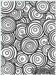 Папка для тиснения и эмбоссинга от Darice - Multi Circles - ScrapUA.com