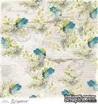 Лист бумаги для скрапбукинга от Magnolia - SWED FEATH - ScrapUA.com