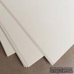 Двусторонний лист бумаги, цвет ванильный, размер А4, 120гр/м.кв - ScrapUA.com